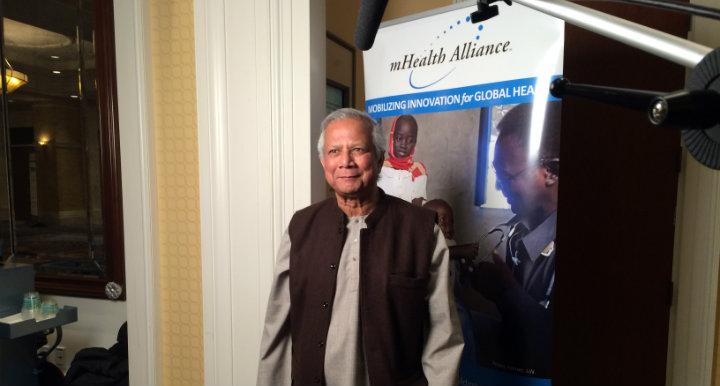 Muhammad Yunus 2013 mHealth Summit