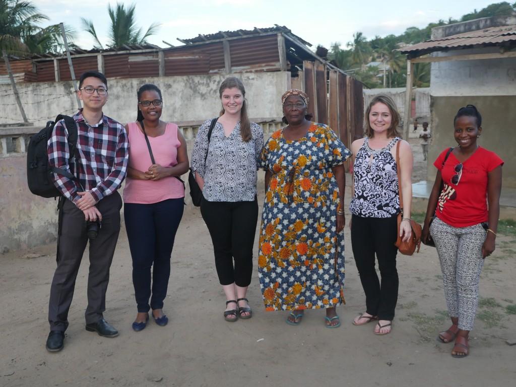 TechChange Team in Mozambique